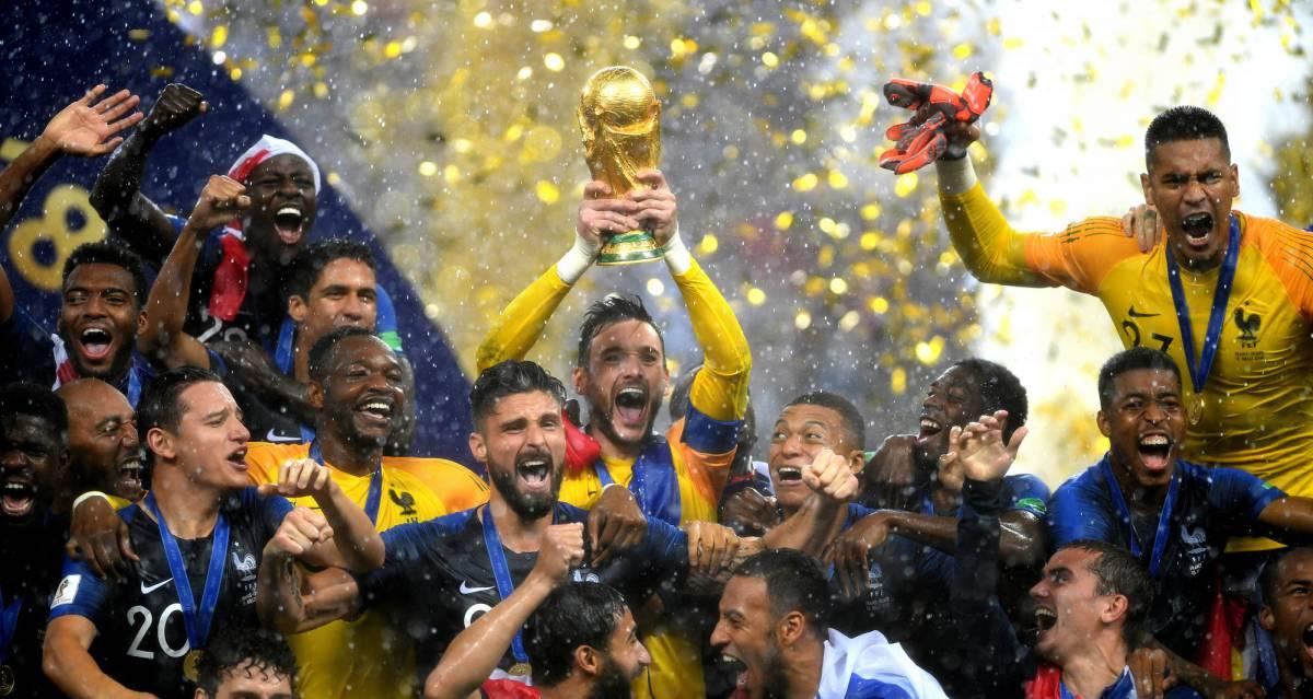 4b45156a6 França goleia Croácia na final e é bicampeã da Copa do Mundo