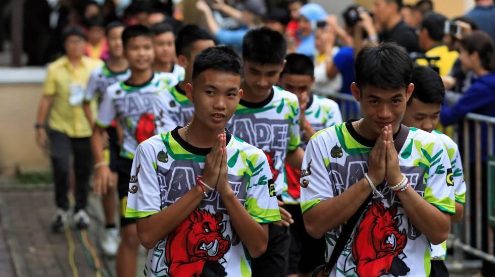 Meninos Tailândia