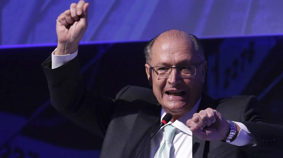 Alckmin durante evento em Brasília, no dia 18.