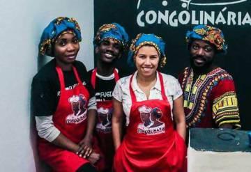 A equipe do Congolinária.