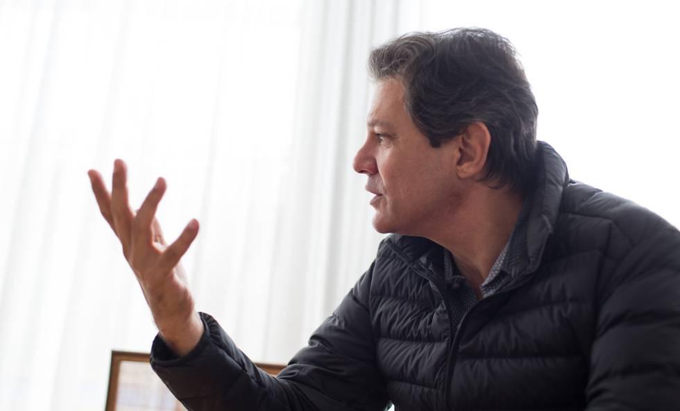 """Fernando Haddad: """"A ideia de uma chapa com Ciro não morreu na praia. Está na ilha ainda"""""""