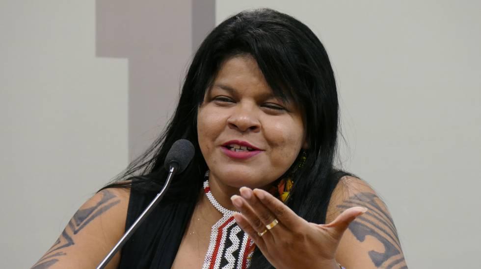 Sônia Guajajara, do PSOL.