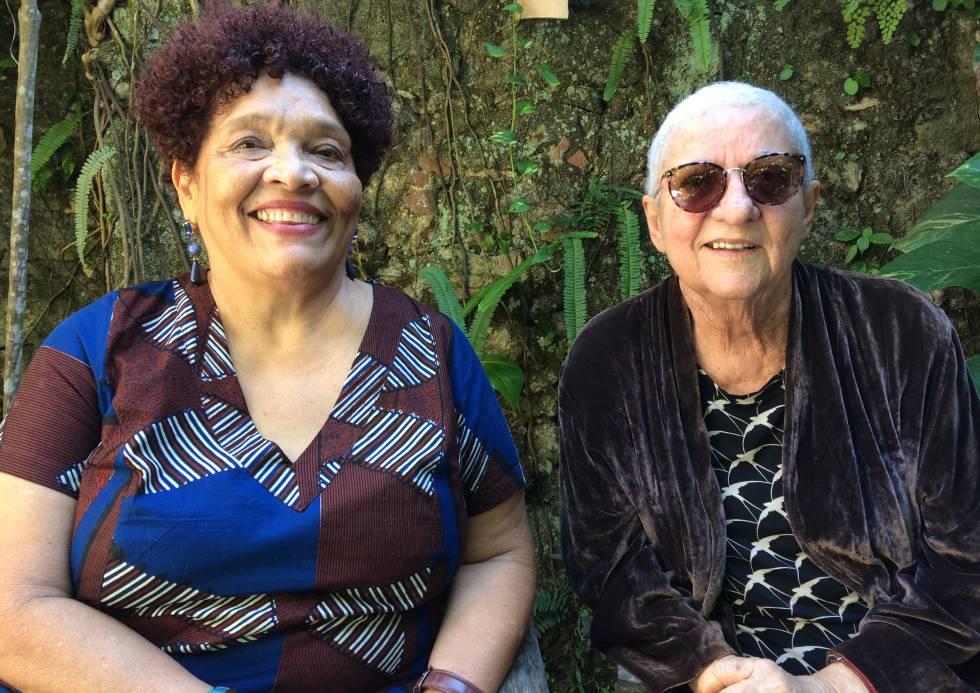 Rina Angulo e Arlete Soares, da Corrupio