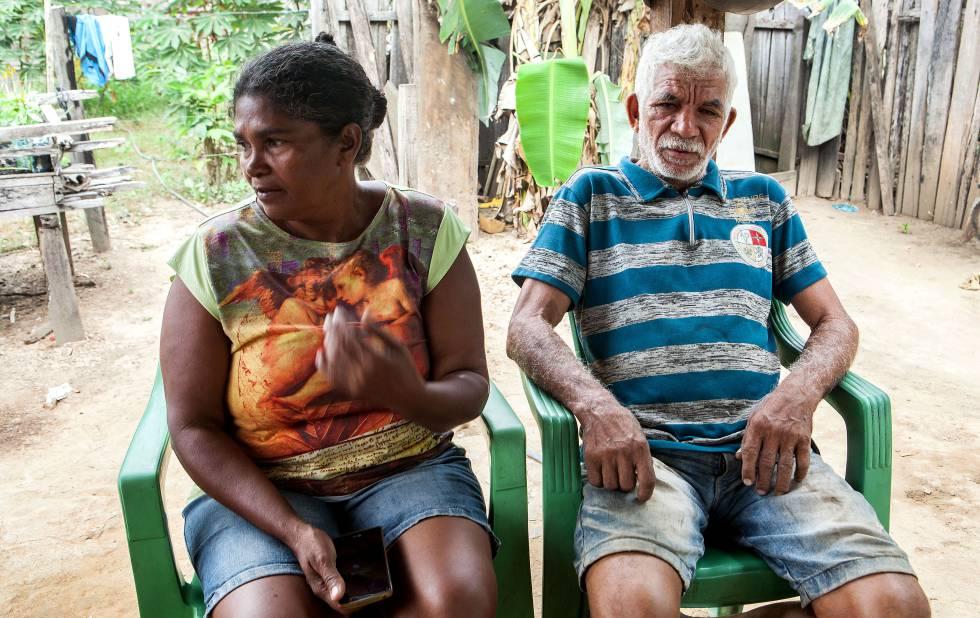 O filho dos camponeses Iracy Resplandes dos Santos, 52 anos, e Valdeci Alves de Souza, 65, foi assassinado em 3 de junho com