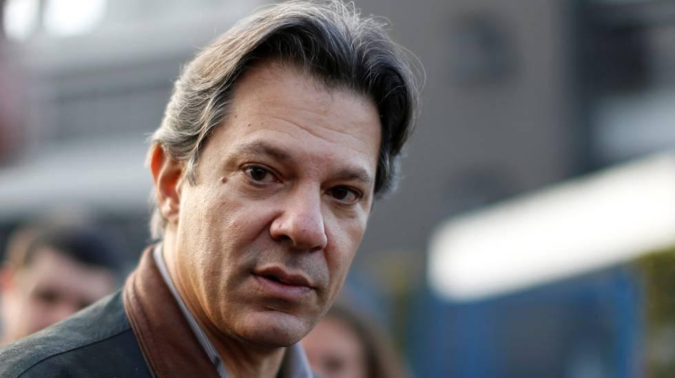 O ex-prefeito de São Paulo Fernando Haddad.