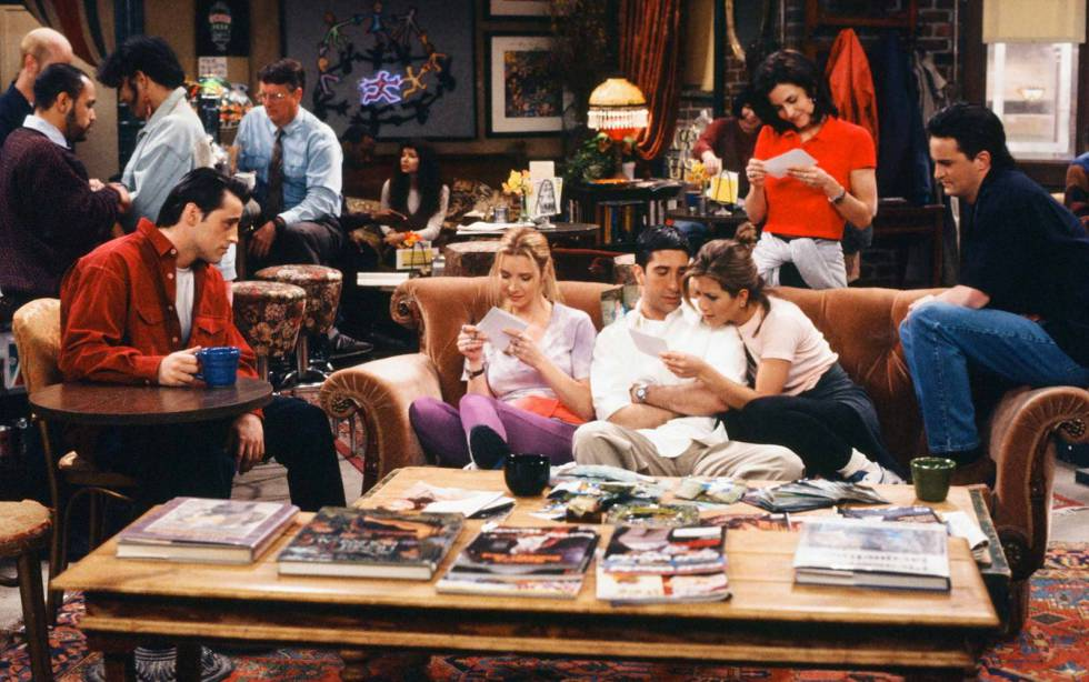 Episódio do seriado americano 'Friends'.
