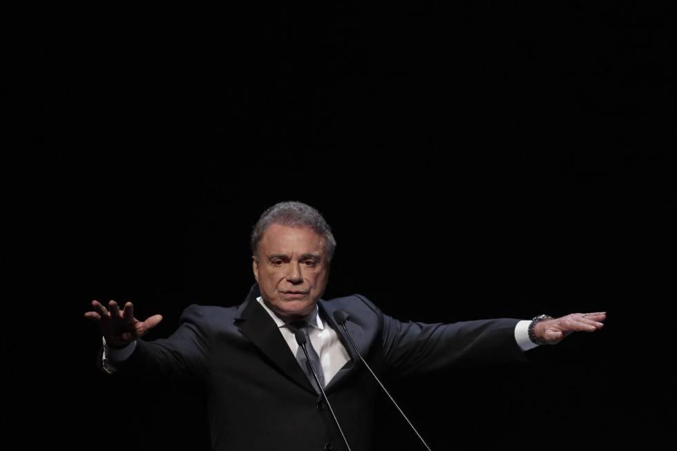Alvaro Dias durante o encontro 'Mulheres do Brasil', na última quinta-feira (16).