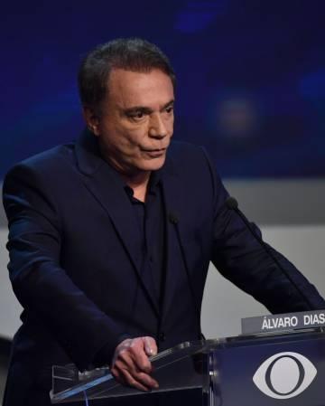 Alvaro Dias no debate da 'Band': convites a Moro para ser ministro.