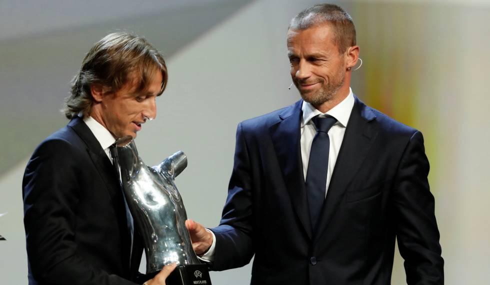 Champions League  Modric supera Cristiano Ronaldo como melhor ... 6d3c316b30880