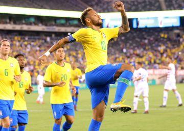 cb9322c96bb76 Brasil derrota os Estados Unidos em amistoso sonolento