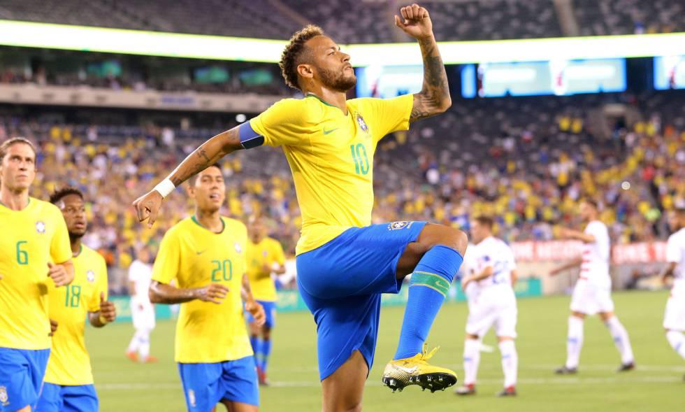 Brasil vence os Estados Unidos em amistoso sonolento  b49cb0ce2a24b