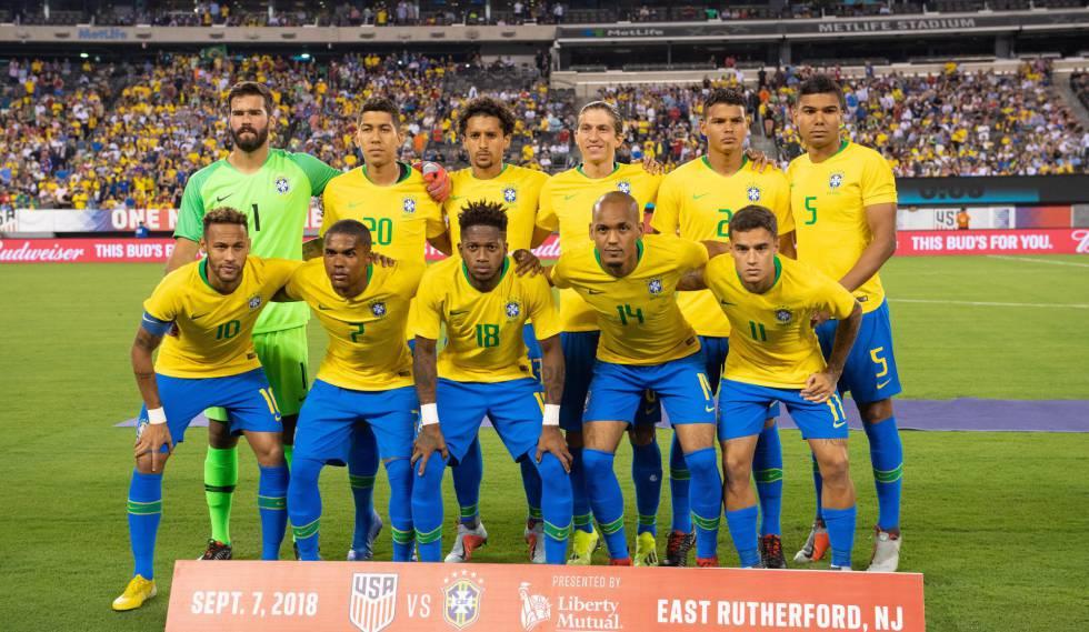 Onde e como assistir ao amistoso Brasil x El Salvador Time que enfrentou os Estados  Unidos ... 4d6a4cb32f100
