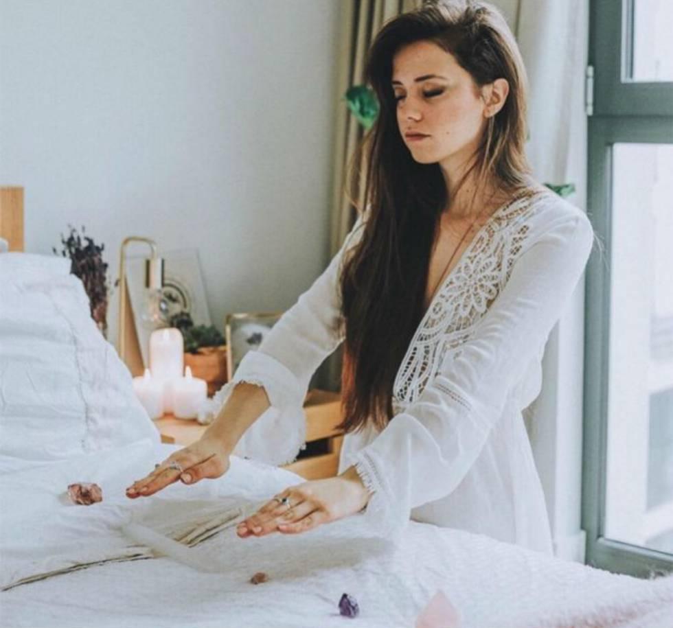 A 'influencer' Claudia Ayuso, em uma foto no seu Instagram.rn
