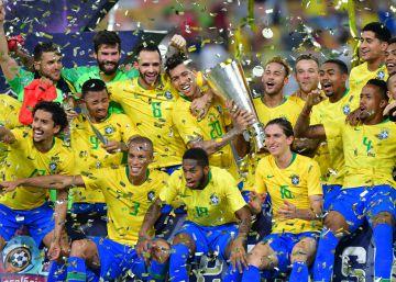 a8e6422614cd4 Seleção Brasileira de Futebol · Miranda marca nos acréscimos e dá vitória  ao Brasil contra a Argentina