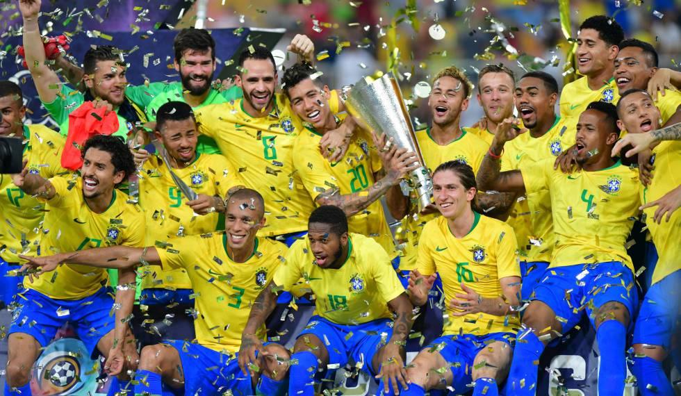 8492e2ec5d Miranda marca nos acréscimos e Brasil vence amistoso contra a Argentina