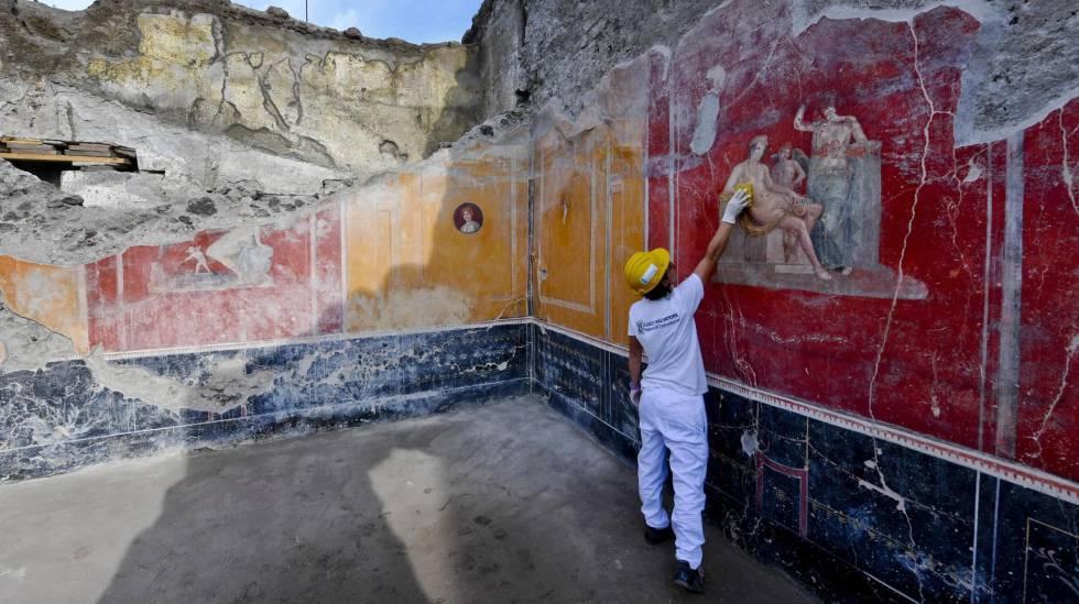 Resultado de imagem para Inscrição de 2.000 anos resolve o último mistério da devastação de Pompeia