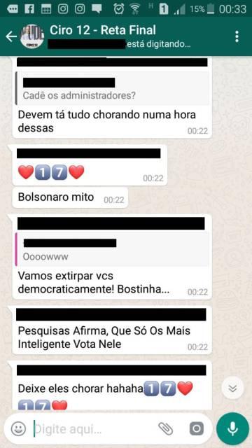 Grupos pró-Bolsonaro no WhatsApp orquestram notícias falsas e ataques pessoais na internet, diz pesquisa