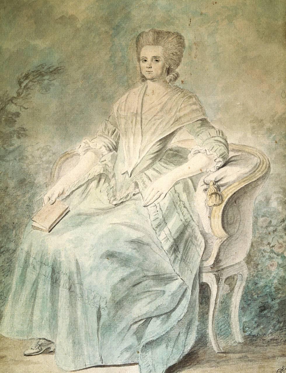Olympe de Gouges, autora da Declaração dos Direitos da Mulher.