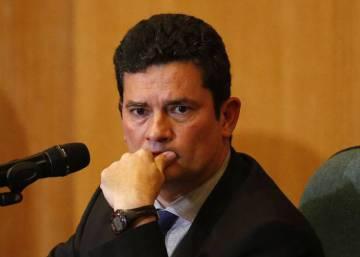 """Sérgio Moro vê Bolsonaro """"moderado"""" e diverge sobre MST e armas"""