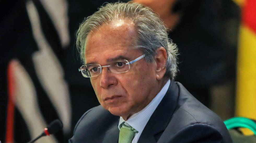 O ministro da Economia de Bolsonaro, Paulo Guedes.
