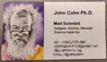 Cartão de visita do engenheiro da IBM.