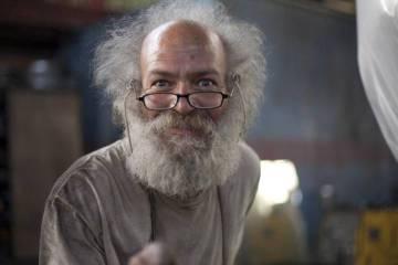 O engenheiro durante sua participação no programa 'The Colony', do Discovery Channel.