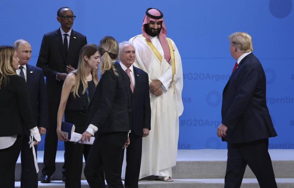 Resultado de imagem para Temer en Buenos Aires G20 El Pais