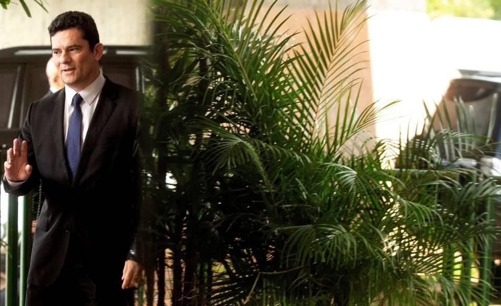 Sergio Moro em Brasília, no dia 4 de dezembro.