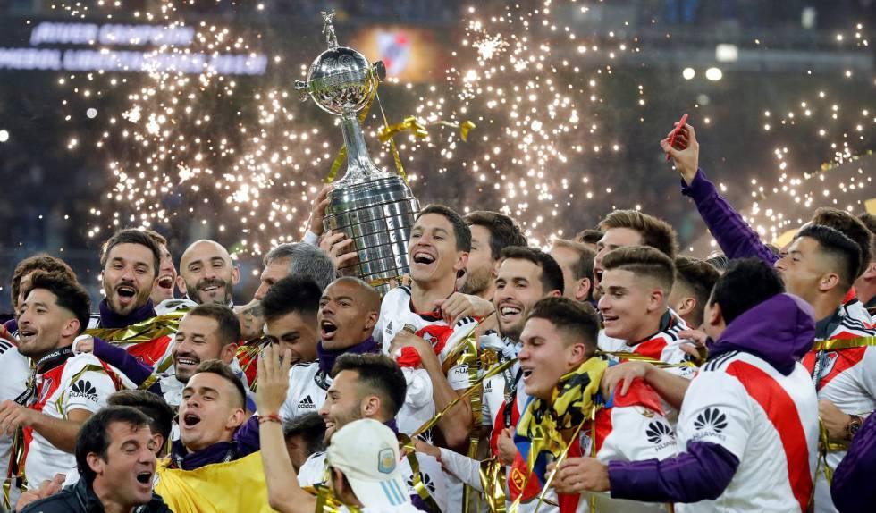 Resultado de imagem para O River Plate é campeão da Libertadores 2018