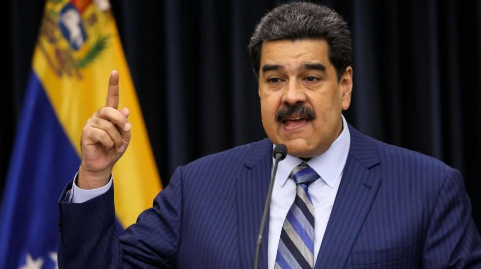 Maduro, durante uma entrevista coletiva