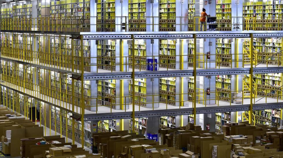 Resultado de imagem para Centro logístico da Amazon em San Fernando