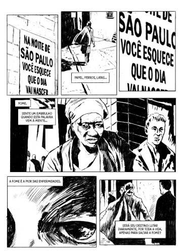 Uma biografia em quadrinhos de Carolina de Jesus