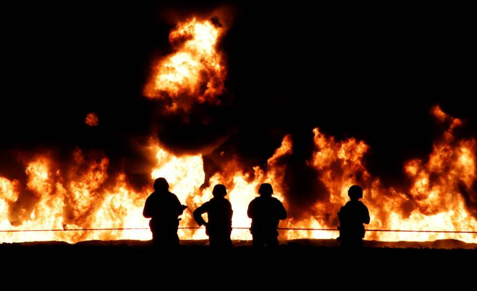 Explosão de oleoduto no Estado de Hidalgo