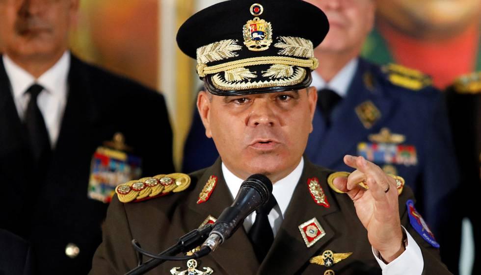 Ministro da Defesa da Venezuela respalda Maduro.