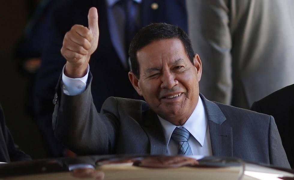Mourao vice Bolsonaro