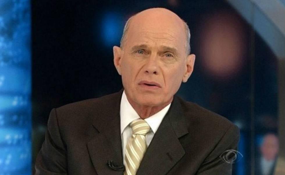 O jornalista Ricardo Boechat, que faleceu aos 66 anos.