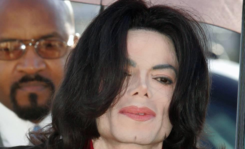 Michael Jackson em imagem de 2005.