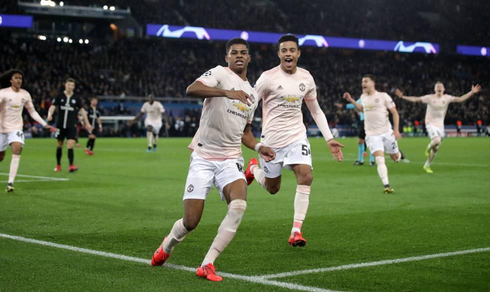 Manchester United marca nos acréscimos graças a VAR e derruba o PSG nas  oitavas da Champions 7811cc5de0207