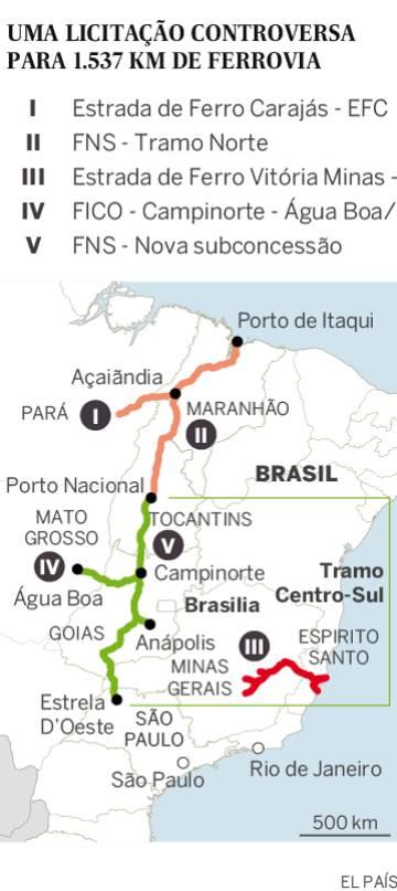 Ferrovia Norte-Sul vale três vezes mais que previsto em edital, aponta estudo