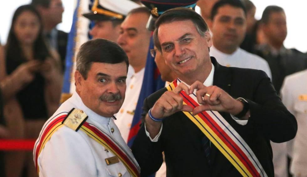 Bolsonaro em cerimônia da Justiça Militar.