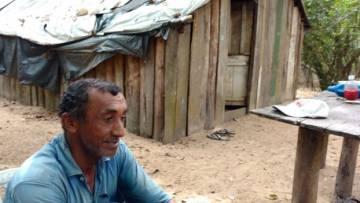 Juracy Bezerra de Oliveira, camponês sequestrado aos 6 anos.