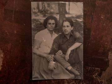 Os pais adotivos de Rosângela, Odyr e Nilza.