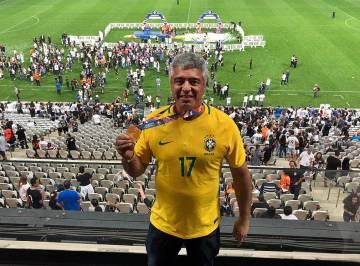 Major Olimpio medalha Corinthians