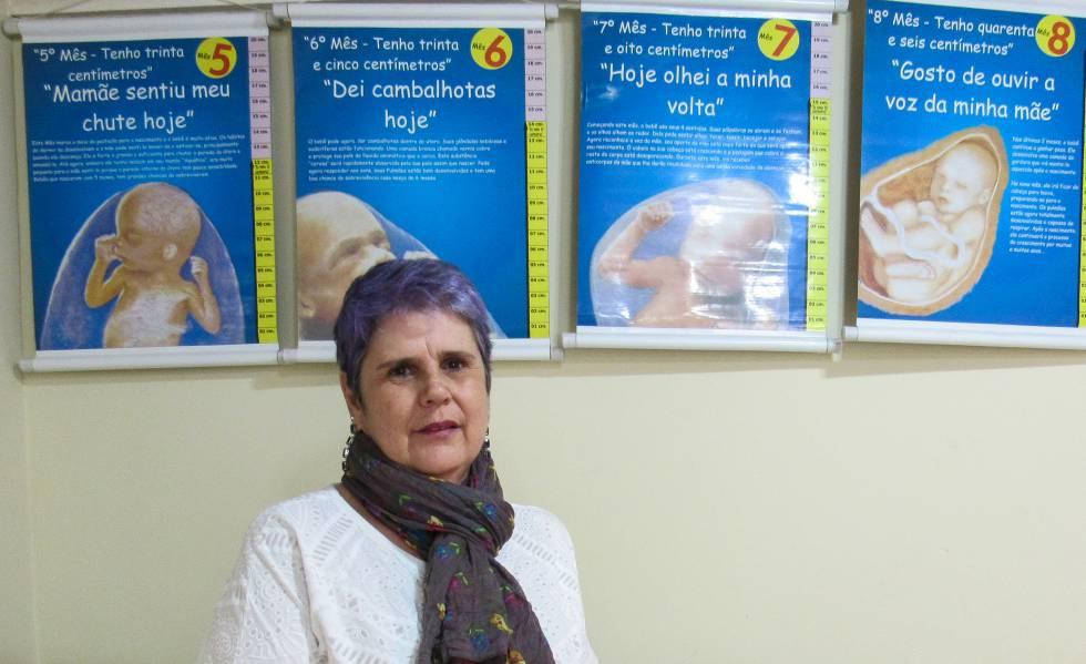 A fundadora do Centro de Reestruturação para a Vida, Rose Santiago.