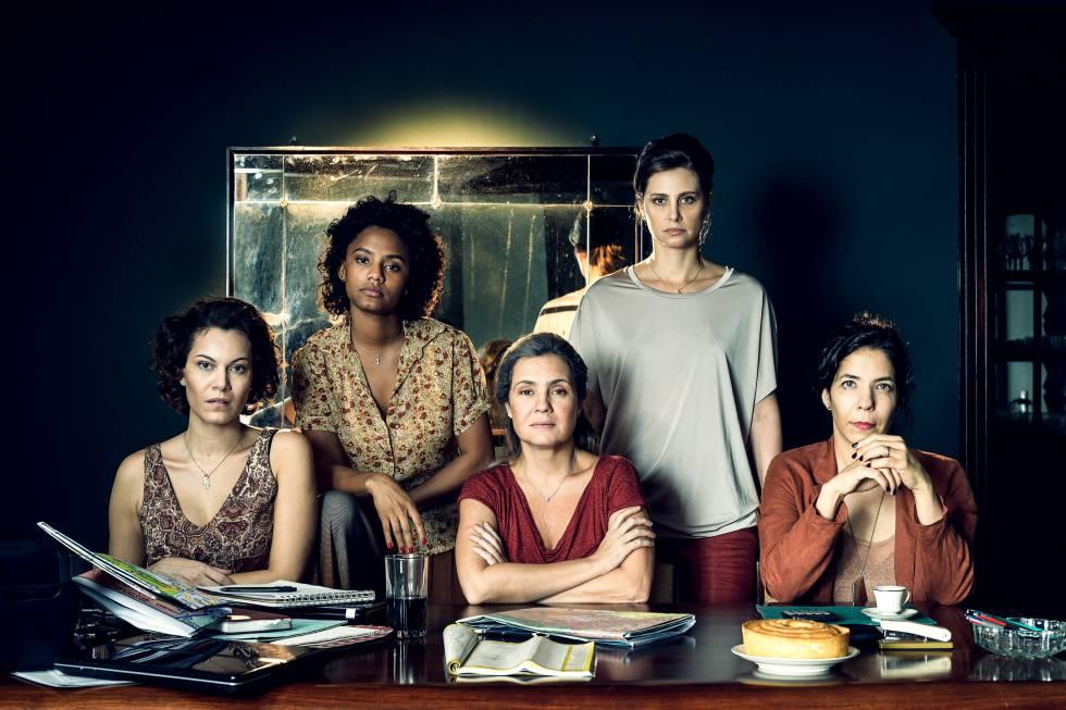 Imagem de divulgação da série 'Assédio', da TV Globo.