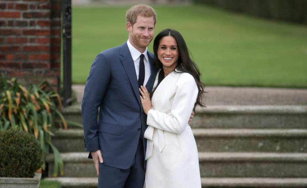 Meghan Markle y Harry hijo