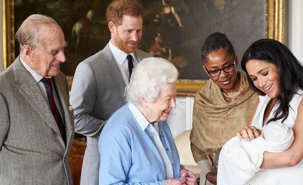 Archie Harrison, filho de Meghan Markle e do príncipe Harry