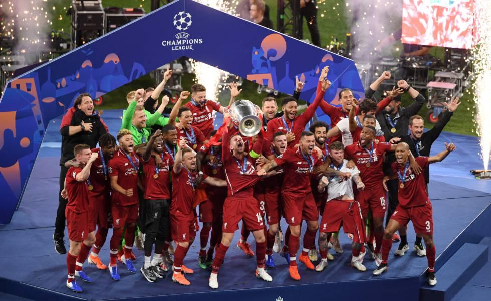 Resultado de imagem para Liverpool Champions campeão