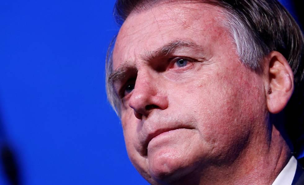Bolsonaro em imagem de maio.