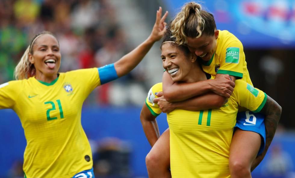 Brasil vence Jamaica Cristiane Copa feminina